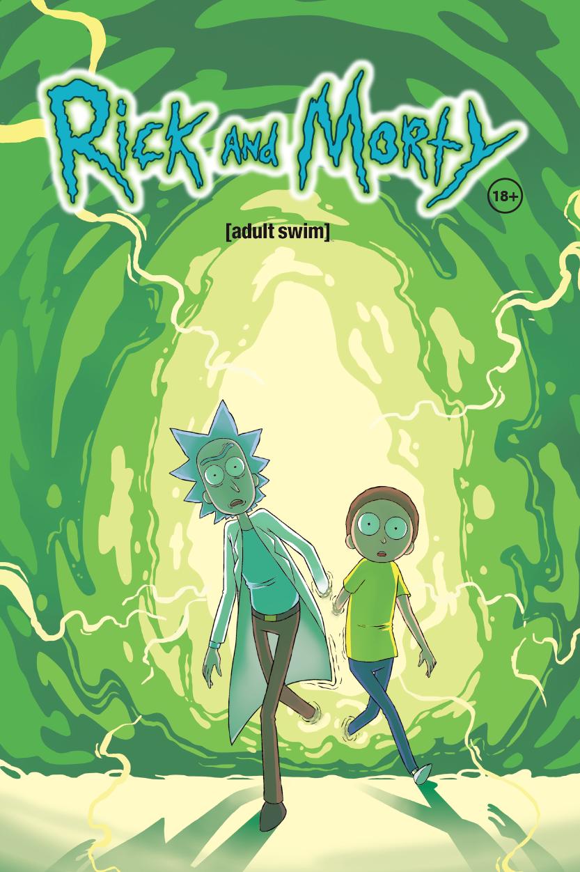 Комикс рик и морти – выпуск #4 на русском языке.