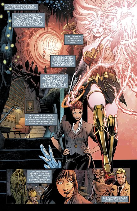 Justice League Dark #4 (The Witching Hour)