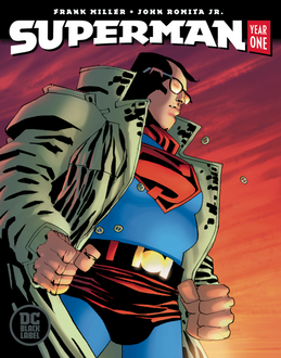 Superman: Year One #2 (Miller Cover)