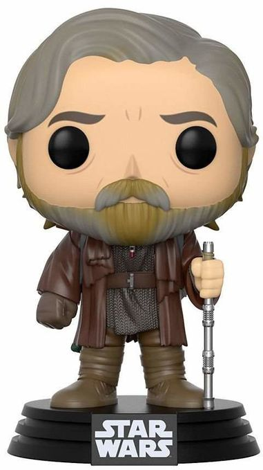 Фигурка Funko POP! Bobble: Star Wars: The Last Jedi: Luke Skywalker