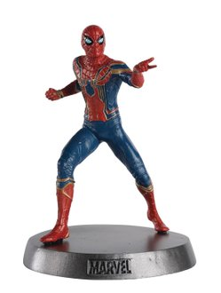 Marvel Movie Hero Collector Heavyweights Spider-Man Metal Statue
