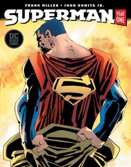 Superman: Year One #1 (Miller Cover)