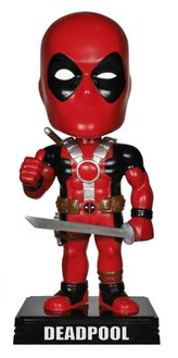 Фигурка Funko Wacky Wobbler: Marvel: Deadpool